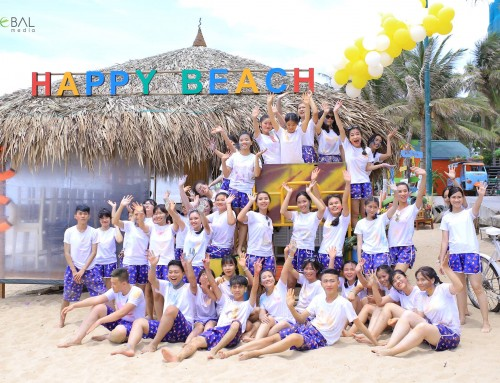 CHỤP KỶ YẾU TẠI HAPPY BEACH